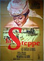 Plakat Kino La Steppe Charles Vanel Marina Vlady- 120 X 160 CM