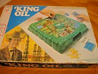 VINTAGE KING OIL GAME BY MILTON BRADLEY 1974