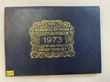1973 REPUBLIC OF INDIA PROOF SET WITH BOX AND COA