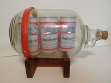 1960s - 70s Budweiser Advertising Emergency Survival  Floatation Device EMPTY