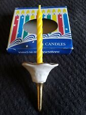 Lenox Birthday Candle Holder Very Old Hard Find!