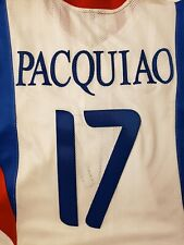 Manny Pacman Pacquiao Philippines Team Nike Authentic Game Jersey Boxing