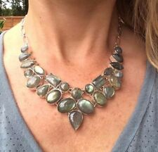 Labradorite Sterling Silver Fine Necklaces & Pendants