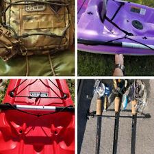 3x Bungee Rigging Deck Kit Paddle Rod Holders for Kayak Boat & Marine Fishing