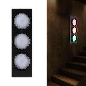 Modern Traffic Signal Light Bedroom Restaurant Corridor Wall Lamp Fixture