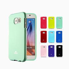 Samsung Galaxy S6/S6 Edge + Plus Case Mercury Goospery Soft Jelly Rubber Cover
