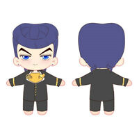 JoJo's Bizarre Adventure Higashikata Josuke 20cm Doll+Cloth Plush Doll Toy New