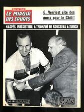 Miroir des Sports 28/8/1961; Maspès/ Racing Club Paris-Angers/ M. Rousseau