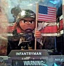 """LIL' ARMY TROOPS """"INFANTRY MAN"""" 3"""" ACTION FIGURE"""
