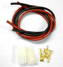 CL5B Compatible Large Tamiya Male Female Gold x 5 & 2m 14AWG Battery Kit 7.2v