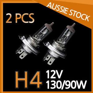 H4 Halogen Light Bulbs Headlight Globes 12V 130/90W Yellow Warm White CAR 1 Pair