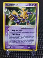2006 MP Gold Star Alakazam Holo Pokemon Card Ex Crystal Guardians 99/100 Rare