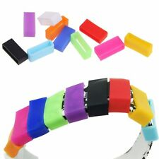 10Pcs Silicone Security Band Clasp Ring Loop Fastener For Garmin Vivofit 1 / 2
