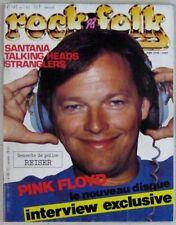 Revue Rock & Folk Avril 1983 Pink Floyd  Santana Stranglers Talking Heads