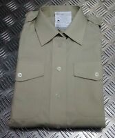 Genuine British Army All Ranks No2 Dress Shirt or Blouse Fawn Womans - NEW