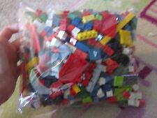 Big sack of assorted legos and others toy building blocks misc pieces childrens