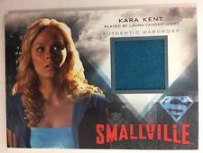 Smallville Seasons 7 10 Laura Vandervoort as Kara Kent Wardrobe Costume Card M16