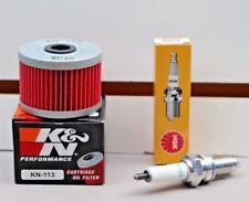 Honda TRX300 FourTrax Tune Up K&N Oil Filter NGK Spark Plug TRX 300 4x4 TRX300FW