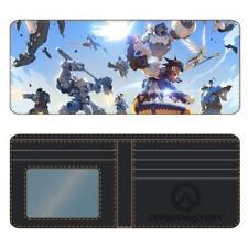 Overwatch Sky Battle Bi-fold Wallet Accessories Money Holder