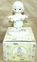 """PRECIOUS MOMENTS by Enesco 1983 Piece E-2821 Collectible 5.5"""" Porcelain Figurine"""