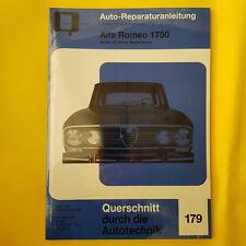 Alfa Romeo 1750 Berlina  GT Veloce Spider Reparaturanleitung Handbuch