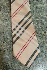 Authentic Burberry London Nova Check Men's Silk Neck Tie New