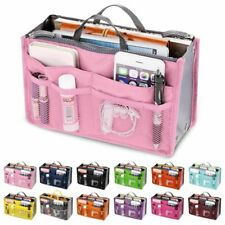 Large Organizer Tote Bag Insert With Pockets Women Handbag Makeup Travel Inserts