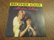 45 tours MODERN TALKING brother louie