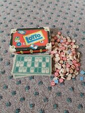 Vintage 1939 Lotto Board Game by Milton Bradley #4168