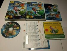 Nintendo Wii Super Mario Galaxy 2 100% Complete! Very Good condition with DVD
