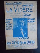 """Partition """"La vipère"""""""