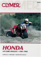 Clymer Repair Manual for Honda ATC 250 R 250R 81-84 M342