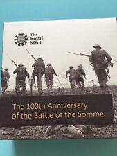 The 100th Anniversary Of The Battle Of The Somme 2016 UK£5 Silver Proof Coin