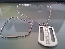 COLLIER HOMME POLICE