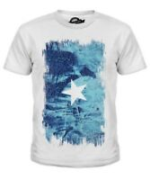 Somalia Grunge Bandera Infantil Camiseta Top Soomaaliya Somalí a ? - ?? M? L