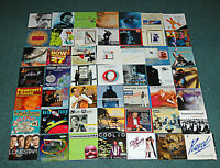 CD Covers, Inserts, Booklets (Artwork Only) Various Artists and Genre Lot of 100