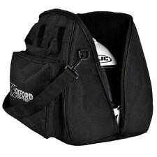 Oxford Lidstash Open or Full Face Motorcycle Motorbike Helmet Bag Helmet Carrier