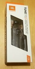 JBL Tune 110 Black Headphones / Earbuds, New In SEALED Box!! Hands Free Calling