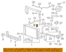 GM OEM-Radiator Upper Bracket 22734149