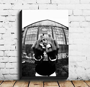 Hot postes 2pac Tupac Biggie Music Poster Canvas Wall Art Home  No Frame