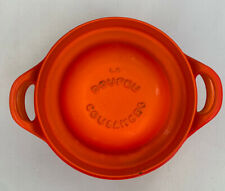 Vintage Le Creuset Cast Iron Cookware - Le Doufeu Cousances - Dutch Oven Flame