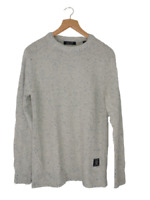 Scotch & Soda Marled Knit Crew Neck Sweater Size M rrp £100 DH004 NN 08