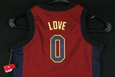 NWT Kevin Love Cleveland Cavaliers Jersey NBA Basketball Red Toddler Boys 3T