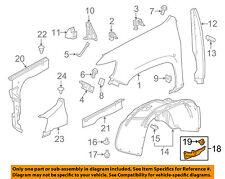 GM OEM Fender-Protector/Bracket/Support Left 23455141