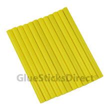 "GlueSticksDirect Neon Yellow  Glue Stick mini X 4"" 12 sticks"