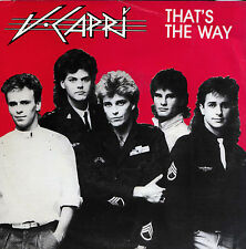 V-CAPRI That's The Way / In My World 45 - Promo