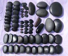 Hot Stone Massage, 64pc deluxe set, Great Lakes Basalt massage stone hot cold