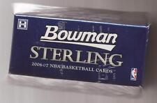 2006-07 Bowman Sterling Basketball Unopen Pack