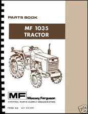 Massey Ferguson MF-1035 Parts Book Form No.651 578 M91