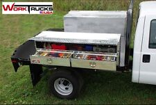 "Truck Tool Box Flat Bed with Drawers NEW! 72"" long"